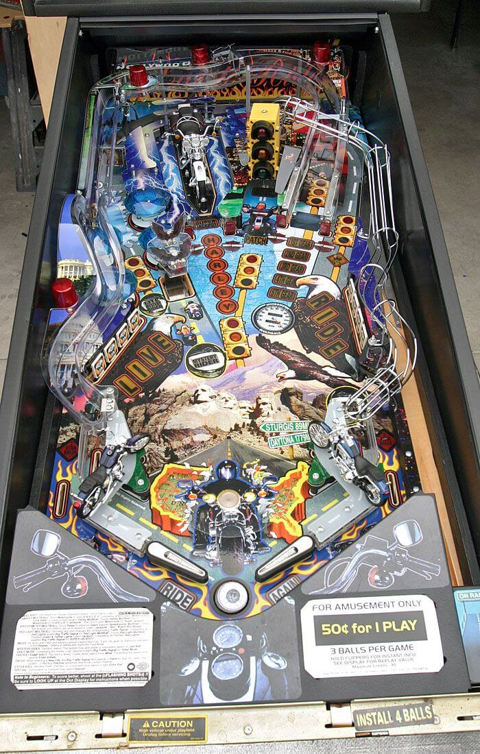 Buy Harley Davidson Pinball Machine 1999 Online At 5499