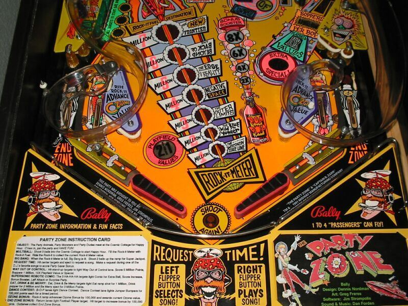 Buy Party Zone Pinball Machine By Bally Online At 4999