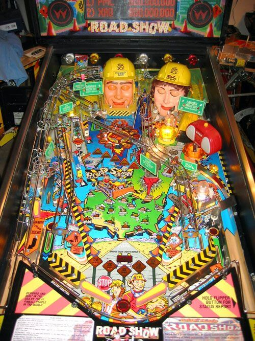 Buy Road Show Pinball Machine By Williams Online At 5999