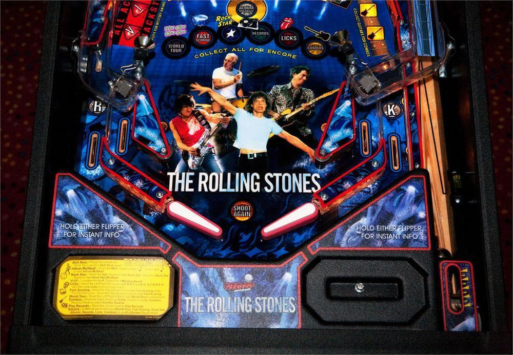 rolling stones pinball machine