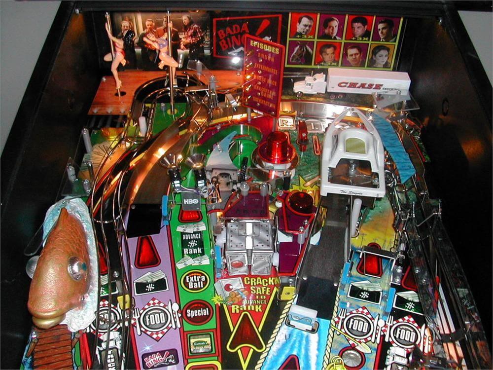 sopranos pinball machine