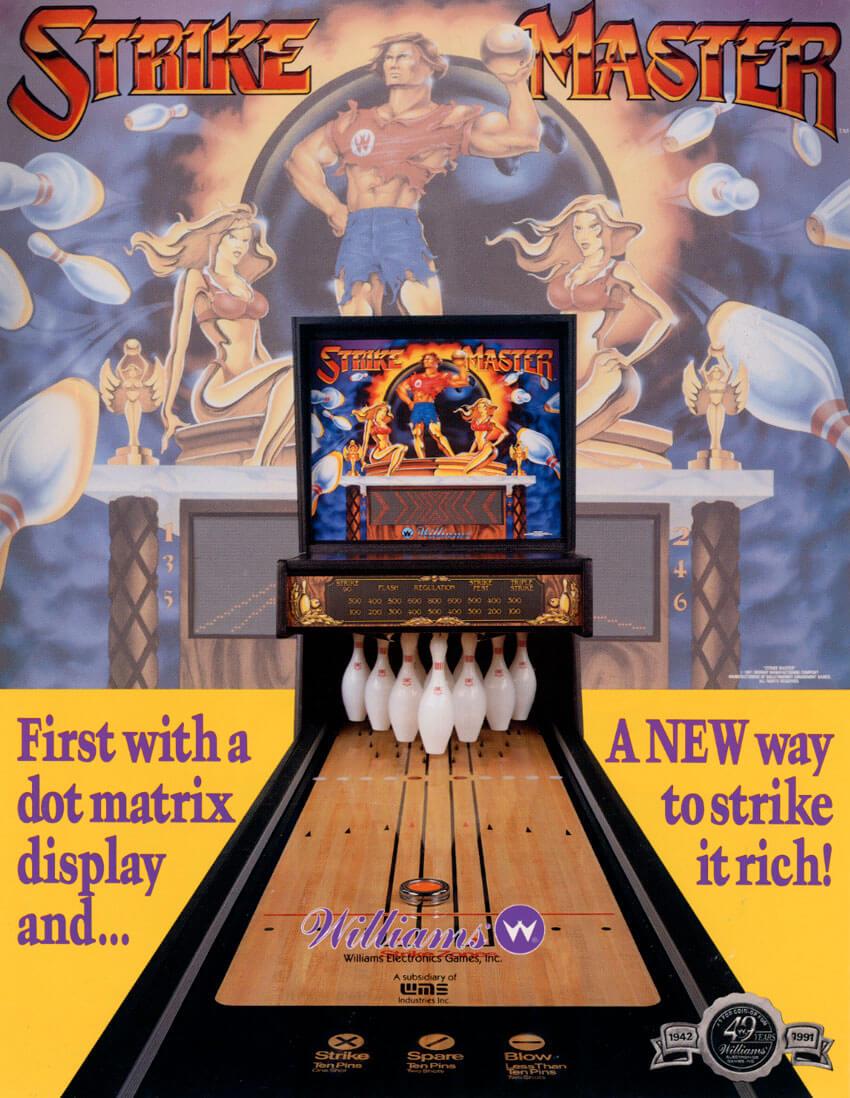 strike master bowling machine