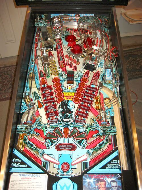 Terminator 2 pinball game where is the epiphone john lennon casino made