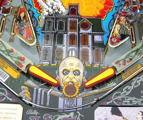 the family pinball machine