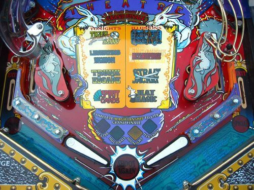 Buy Theatre Of Magic Pinball Machine By Bally Online At 8999