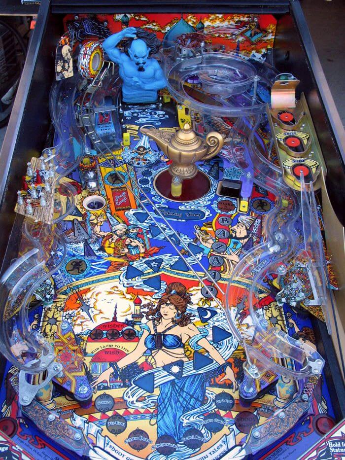 Flying Carpet Pinball Machine D In Shed