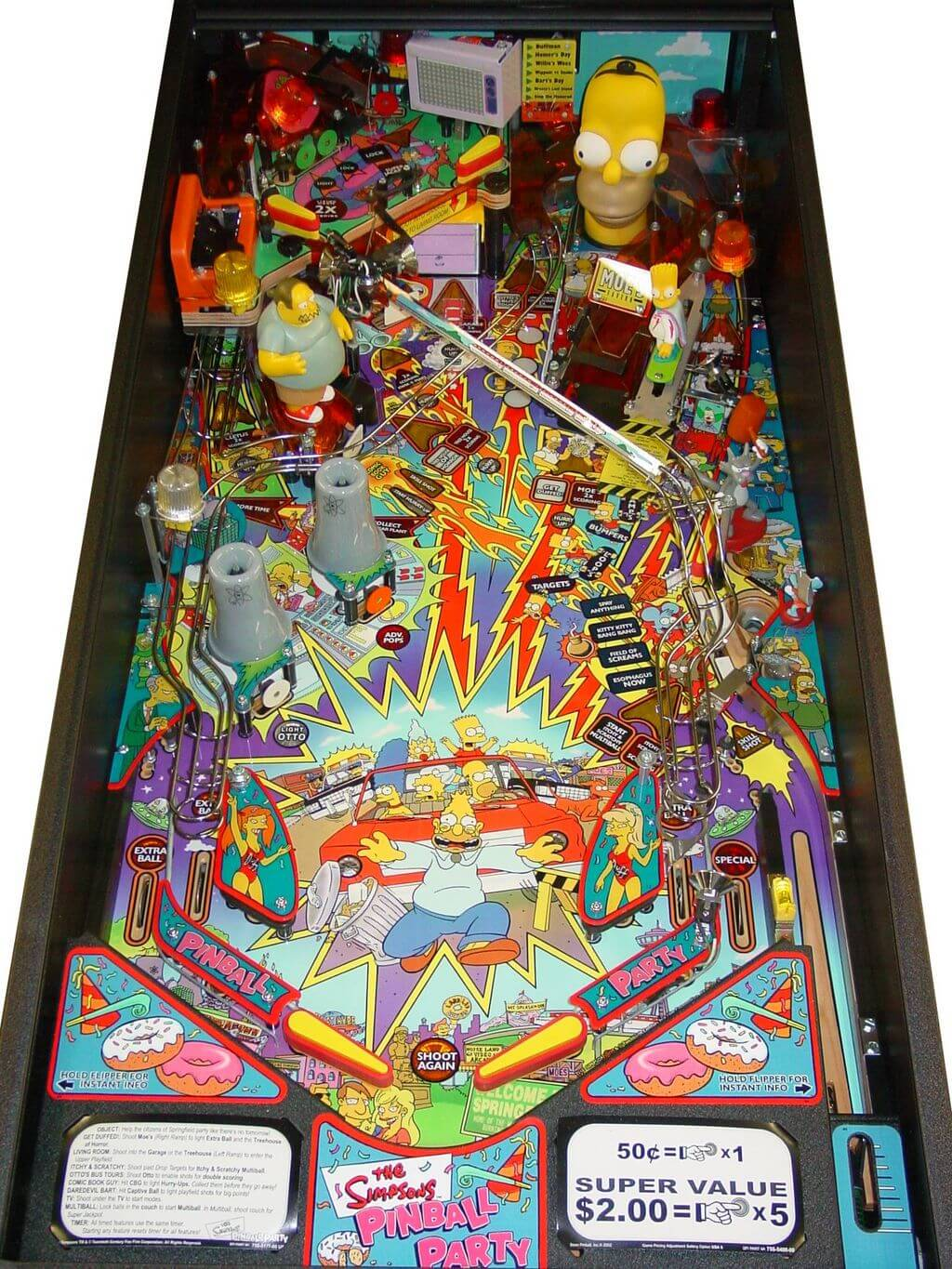 Buy Simpsons Pinball Party Machine Online At 7499