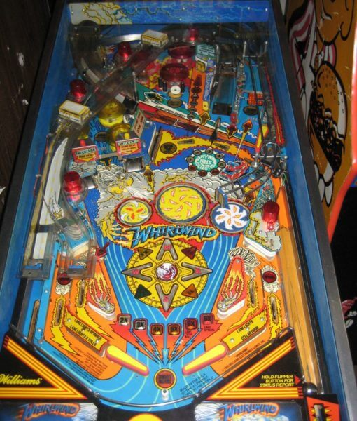 Buy Whirlwind Pinball Machine By Williams Online At 5499